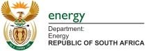 logo energy department of south africa